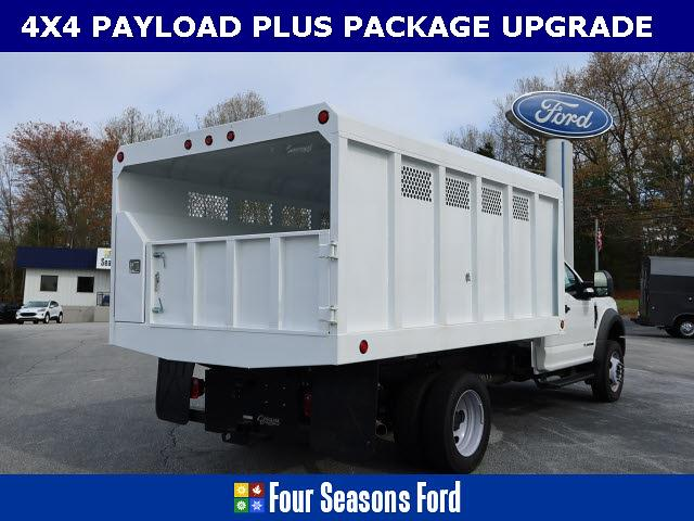 2021 Ford F-550 Regular Cab DRW 4x4, Carolina Custom Products Chipper Body #T21218 - photo 1