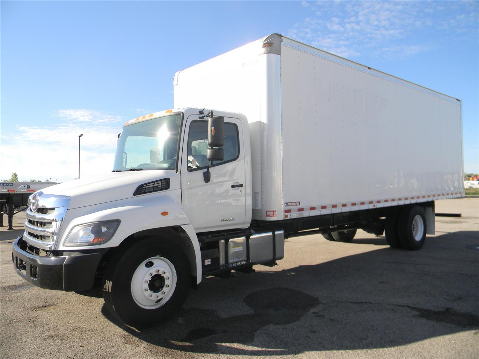 2018 Hino Truck Single Cab, Morgan Dry Freight #111566-R - photo 1