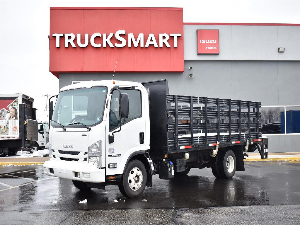 2019 Isuzu NPR-HD Regular Cab 4x2, Stake Bed #10576 - photo 1
