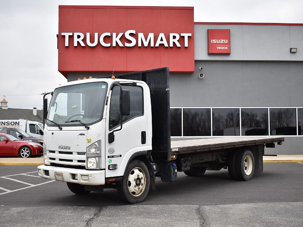 2015 Isuzu NRR Regular Cab 4x2, Platform Body #10584 - photo 1