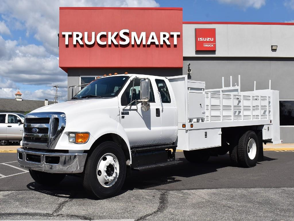 2012 Ford F-650 Super Cab DRW 4x2, Stake Bed #10588 - photo 1