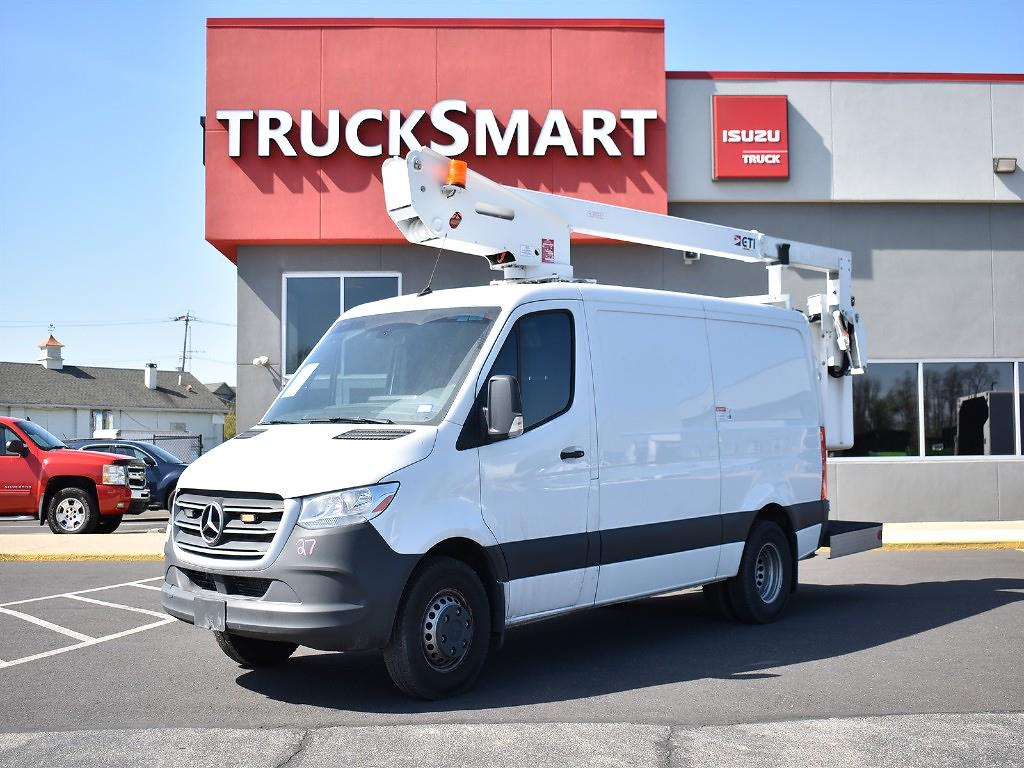 2019 Mercedes-Benz Sprinter 3500 4x2, Upfitted Cargo Van #10609 - photo 1