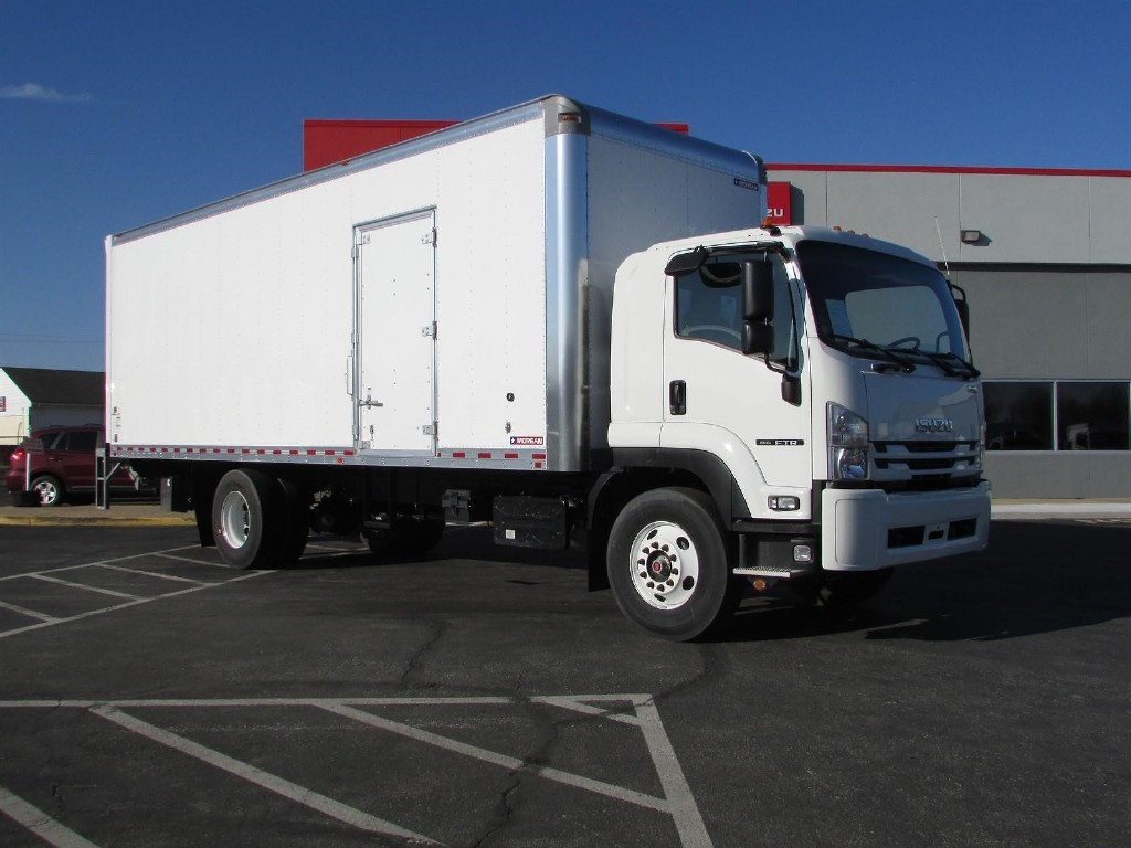 2020 Isuzu FTR Regular Cab 4x2, Morgan Dry Freight #20118 - photo 1