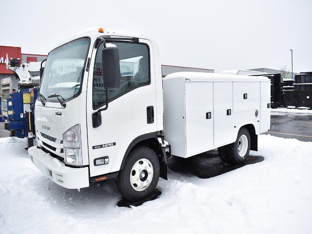 2020 Isuzu NPR Regular Cab 4x2, Knapheide Service Body #20124 - photo 1