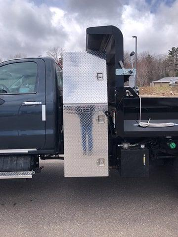 2021 Silverado 5500 Regular Cab DRW 4x4,  Knapheide Rigid Side Dump Body #C643 - photo 13