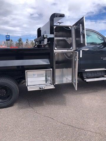2021 Silverado 5500 Regular Cab DRW 4x4,  Knapheide Rigid Side Dump Body #C643 - photo 9