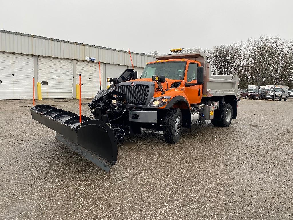 2021 International HV 4x2, 10' Monroe Stainless Dump Body, 10' Reverse Plow, 9' Wing #111626 - photo 1