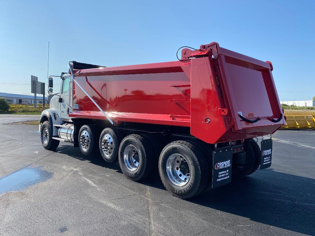 2021 International HX 6x4, DuraClass Dump Body #112240 - photo 1