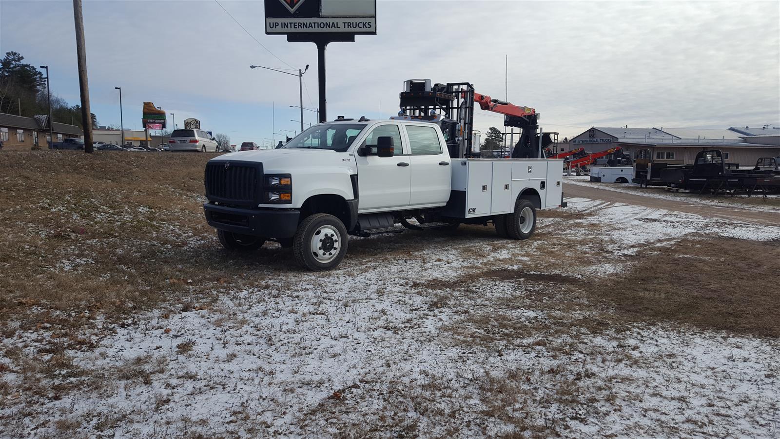 2020 International CV 4x4, CM Truck Beds Service Body #111358 - photo 1