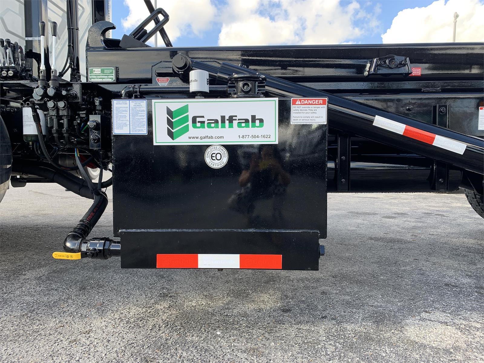 2022 International HV 6x4, Galfab Roll-Off Body #PR-320226 - photo 16