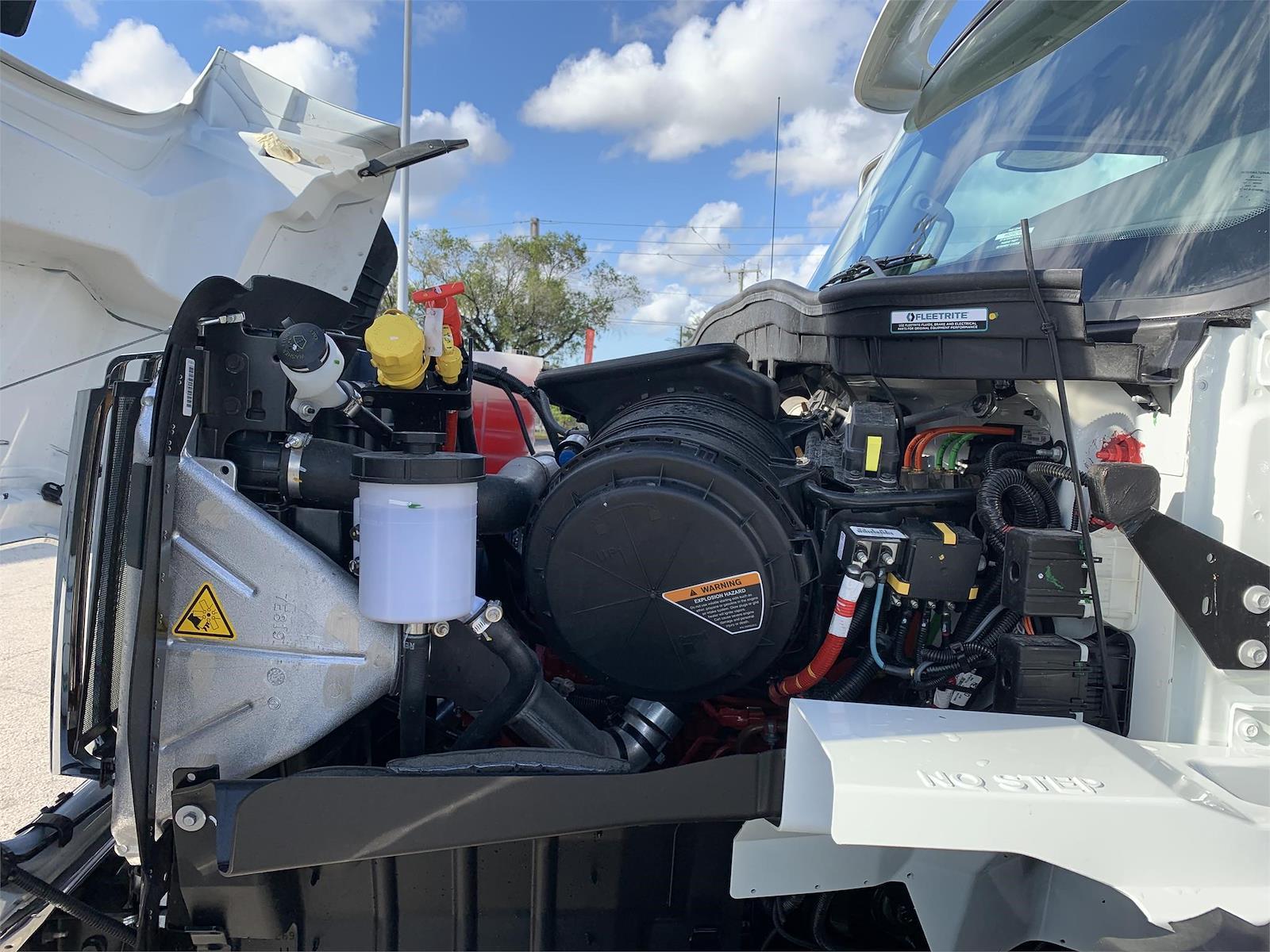 2022 International HV 6x4, Galfab Roll-Off Body #PR-364447 - photo 19