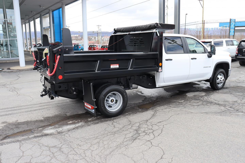 2021 Silverado 3500 Crew Cab 4x4,  Reading Marauder Dump Body #21310 - photo 5
