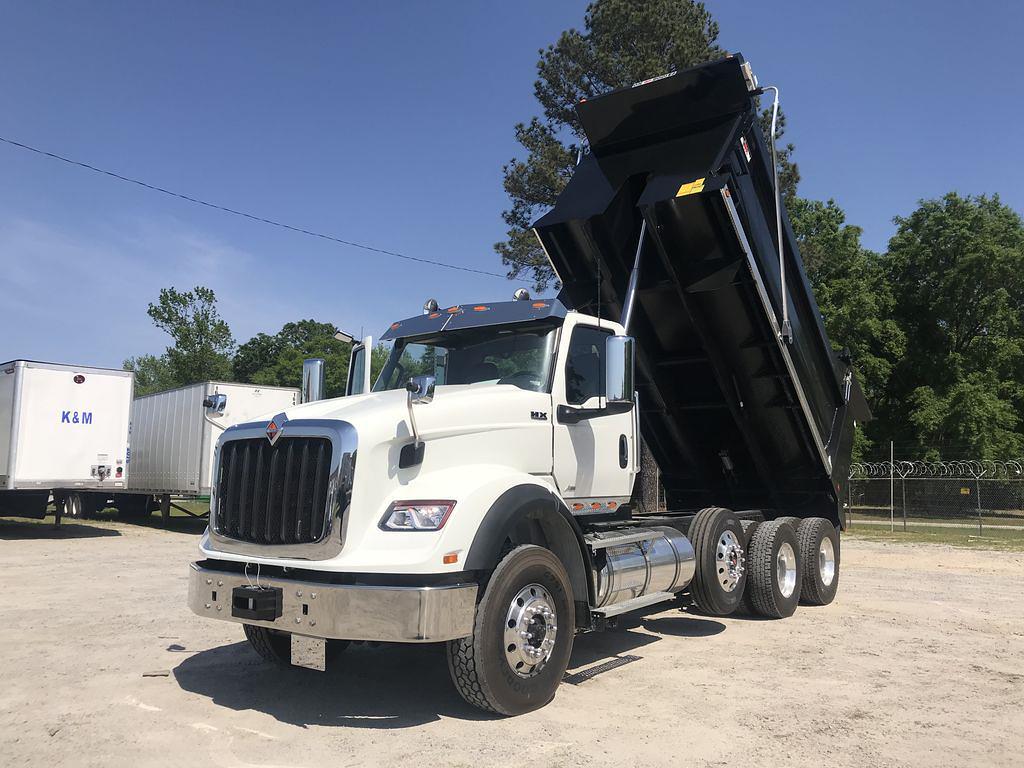 2022 International HX 6x4, Ox Bodies Dump Body #180375 - photo 1