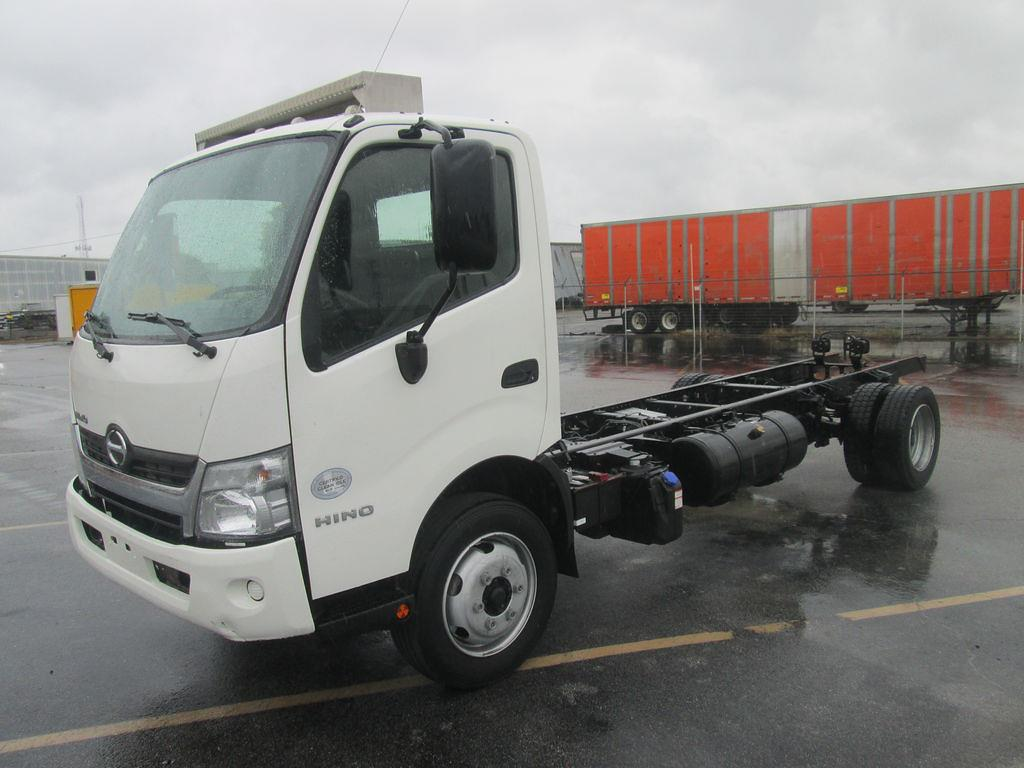 2017 Hino Truck Single Cab, Cab Chassis #M04745 - photo 1