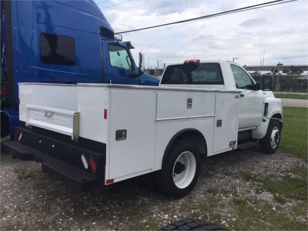2019 International CV 4x2, CM Truck Beds Service Body #190076 - photo 1