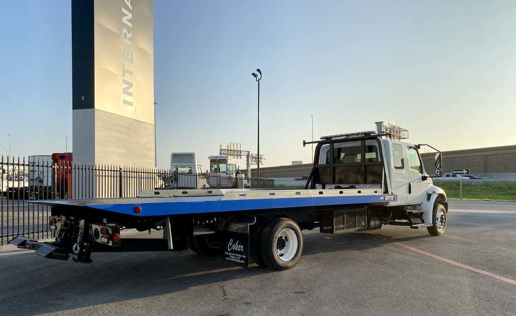 2020 International MV 4x2, Miller Industries Rollback Body #LH220657 - photo 1