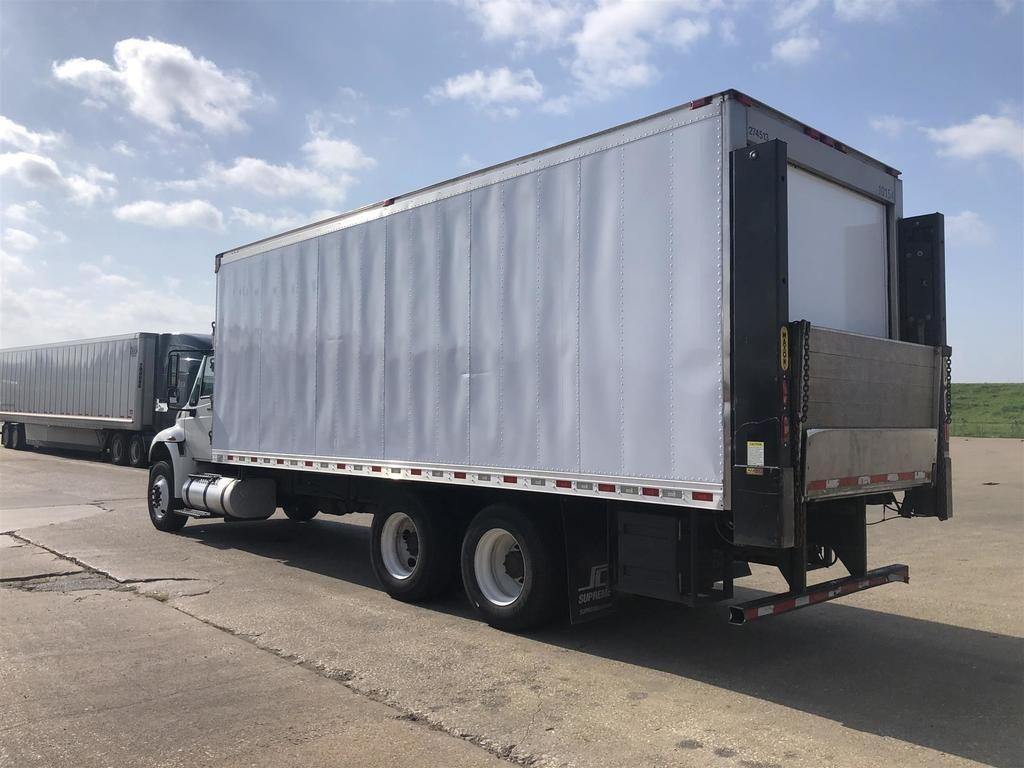 2014 International Truck 6x4, Refrigerated Body #U7542 - photo 1