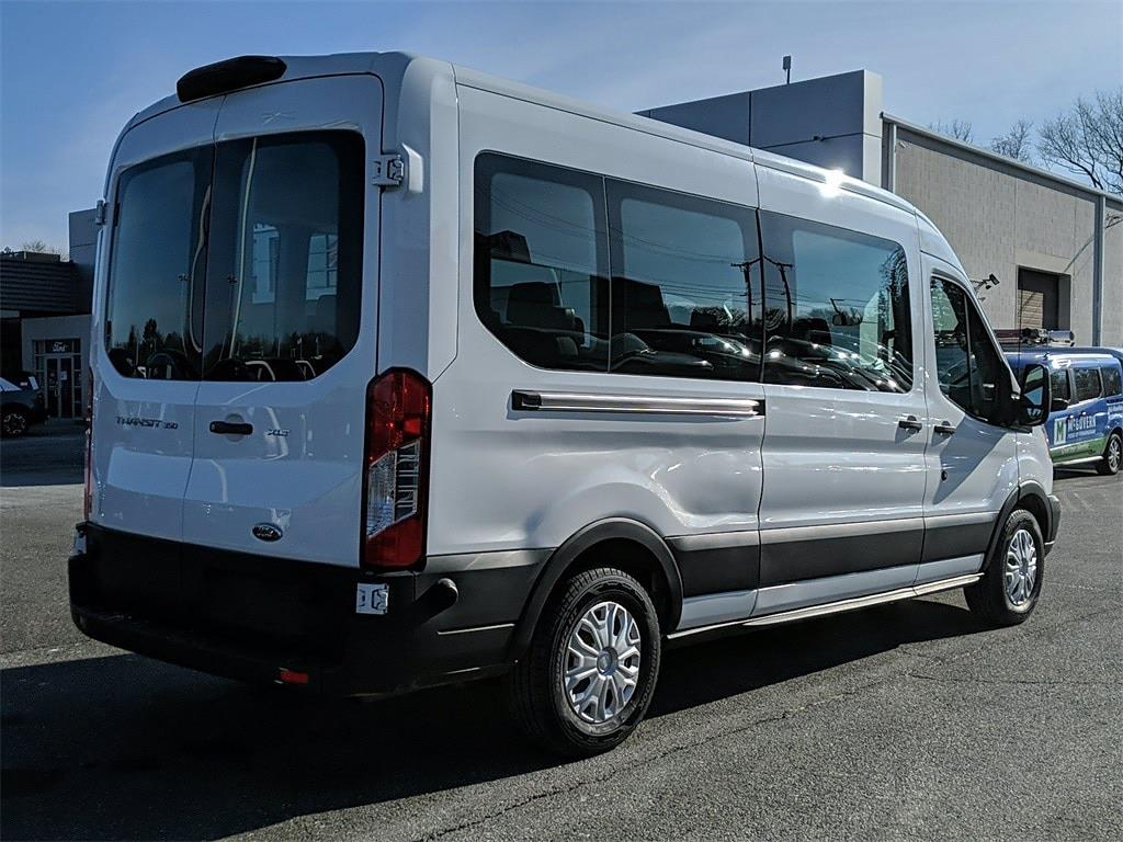 2019 Ford Transit 350 Med Roof 4x2, Passenger Wagon #FD241 - photo 1