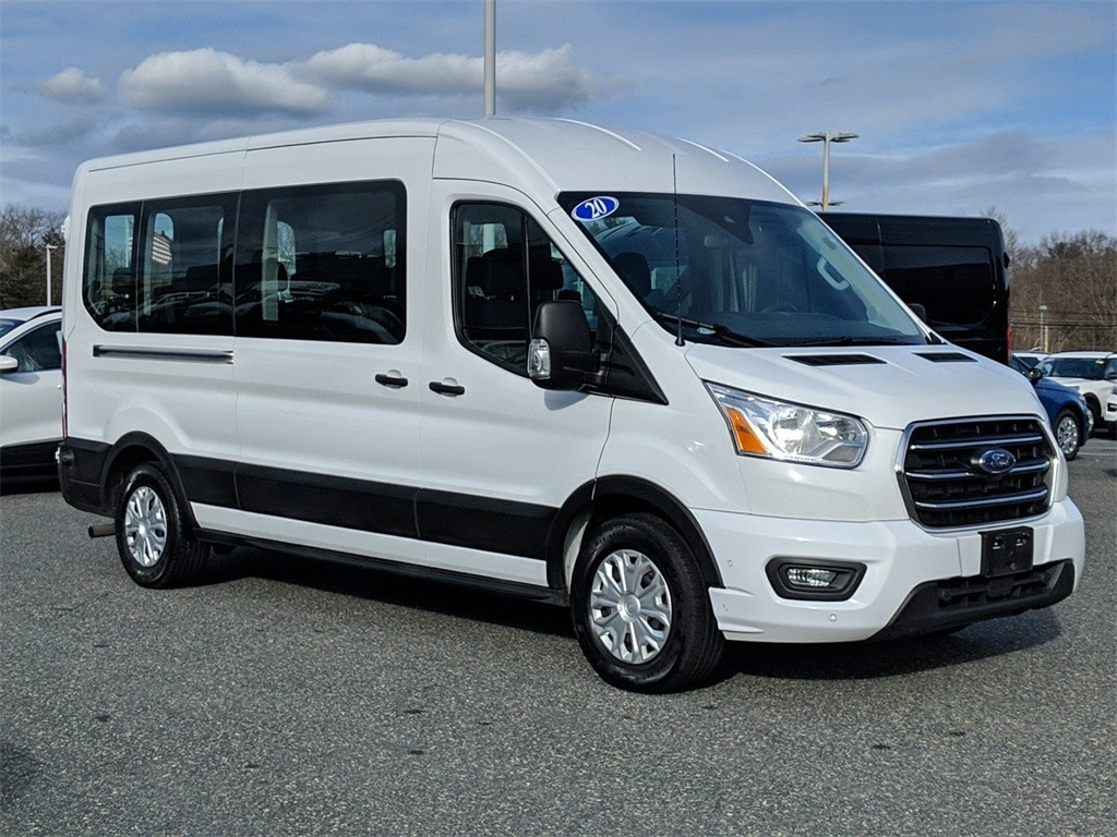 2020 Ford Transit 350 Med Roof 4x2, Passenger Wagon #FD246 - photo 1