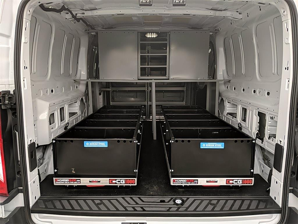 2018 Ford Transit 350 Low Roof 4x2, Adrian Steel Upfitted Cargo Van #FD282 - photo 1