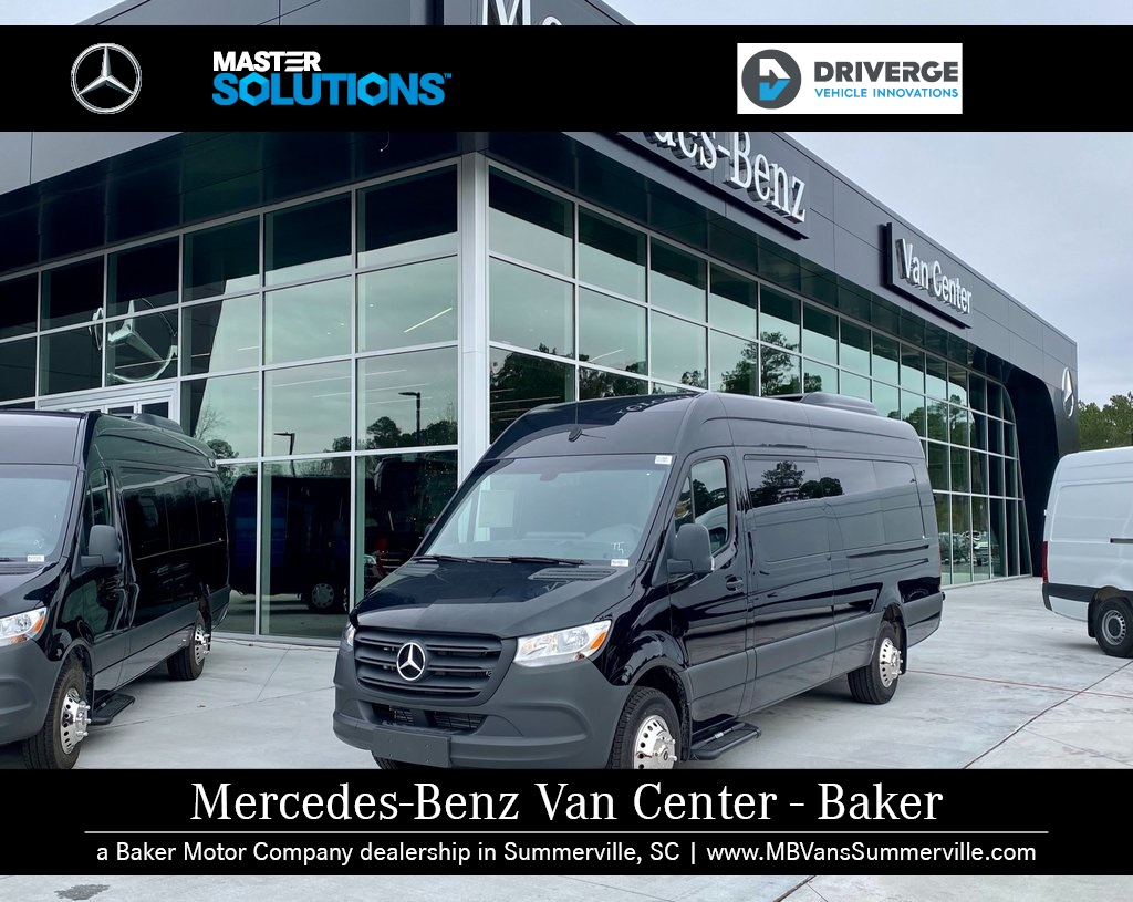 "2019 Mercedes-Benz Sprinter 3500 High Roof 4x2, 170"" Extended 15 Passenger  #MV0005 - photo 1"