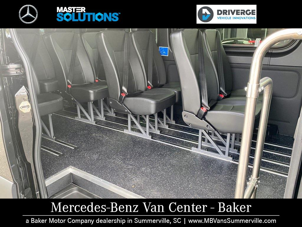2019 Mercedes-Benz Sprinter 3500 High Roof 4x2, 170' Extended Midwest Automotive Designs Executive Shuttle #MV0007 - photo 12