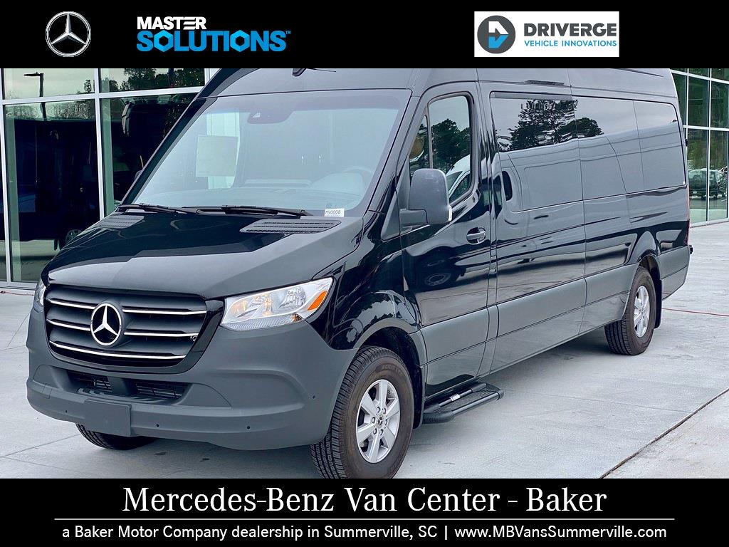 "2020 Mercedes-Benz Sprinter 2500 High Roof 4x2, 170"" 13 Passenger Driverge Braun WAV #MV0008 - photo 1"