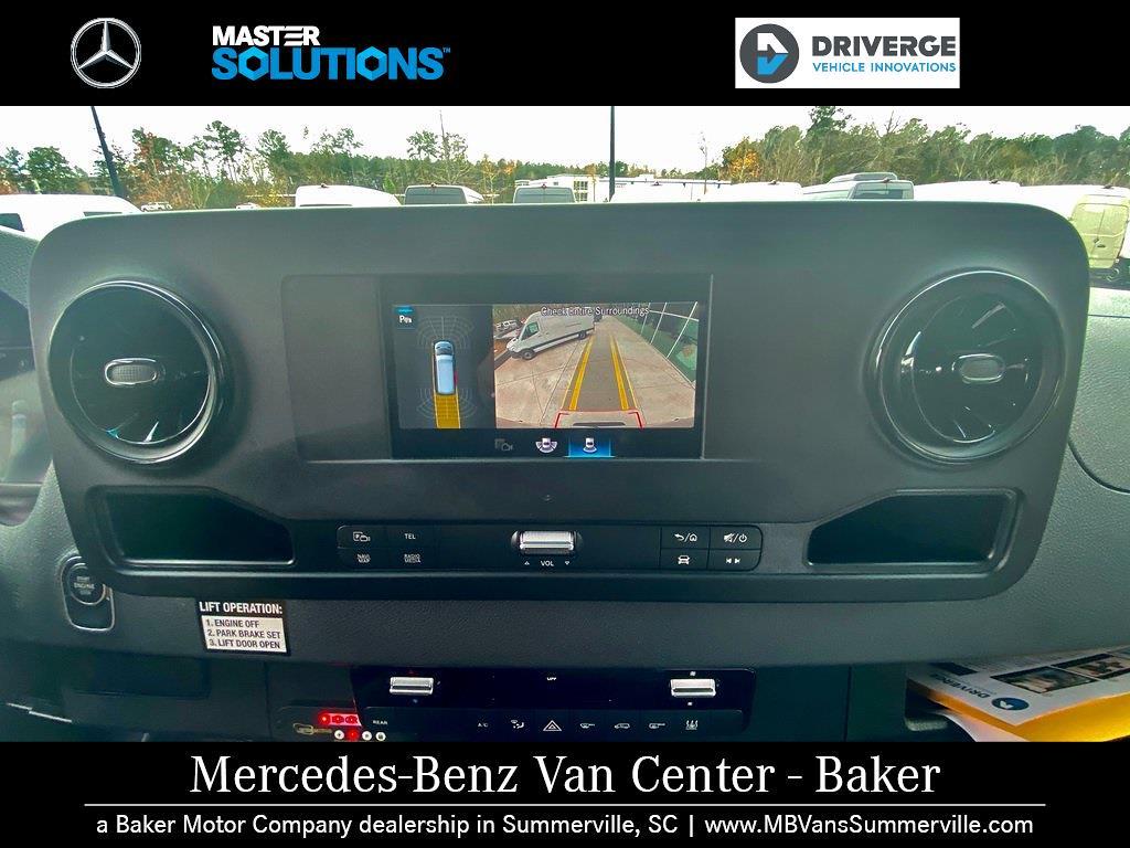 "2020 Mercedes-Benz Sprinter 2500 High Roof 4x2, 170"" 13 Passenger Driverge Braun WAV #MV0008 - photo 13"