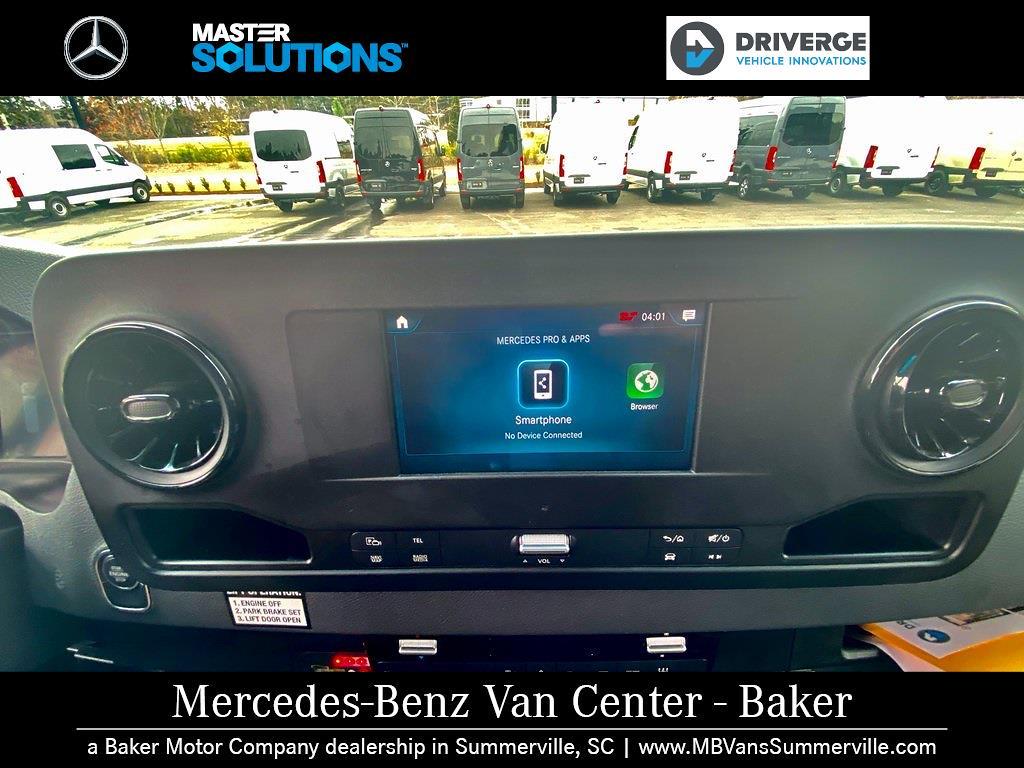 "2020 Mercedes-Benz Sprinter 2500 High Roof 4x2, 170"" 13 Passenger Driverge Braun WAV #MV0008 - photo 14"