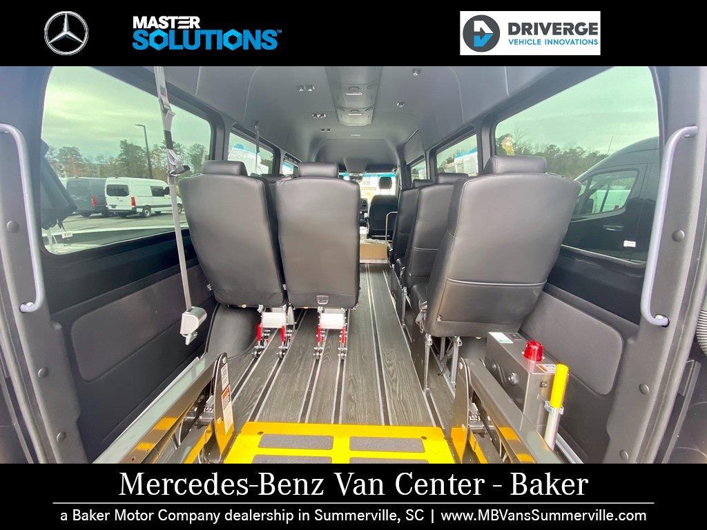 "2020 Mercedes-Benz Sprinter 2500 High Roof 4x2, 170"" 13 Passenger Driverge Braun WAV #MV0008 - photo 9"