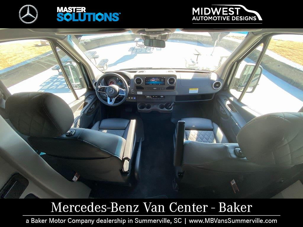 2019 Mercedes-Benz Sprinter 3500XD High Roof DRW 4x2, 170' Extended Midwest Automotive Designs Executive Shuttle #MV0071 - photo 11