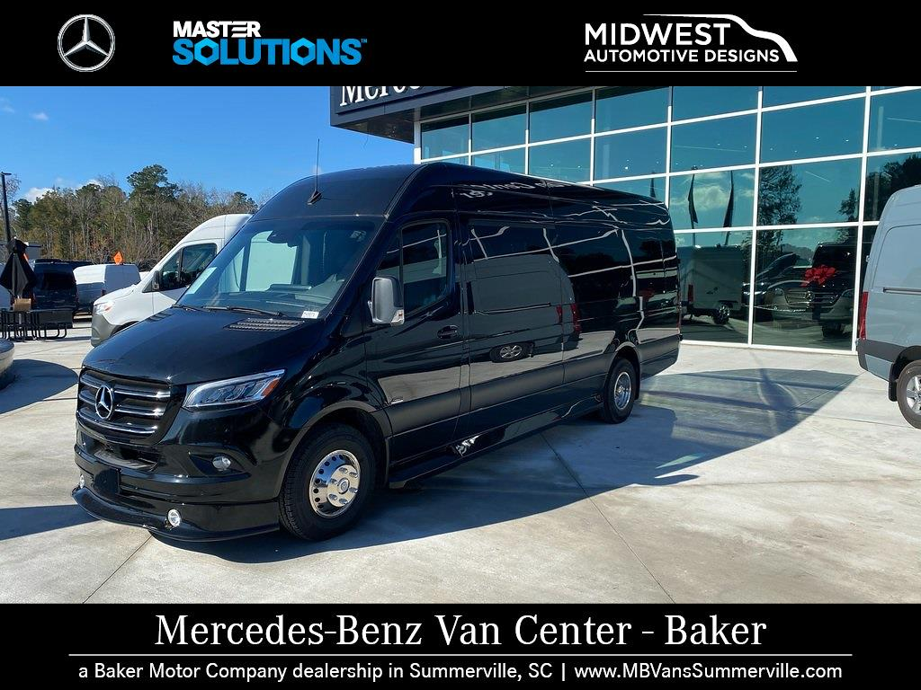 2019 Mercedes-Benz Sprinter 3500XD High Roof DRW 4x2, 170' Extended Midwest Automotive Designs Executive Shuttle #MV0071 - photo 6