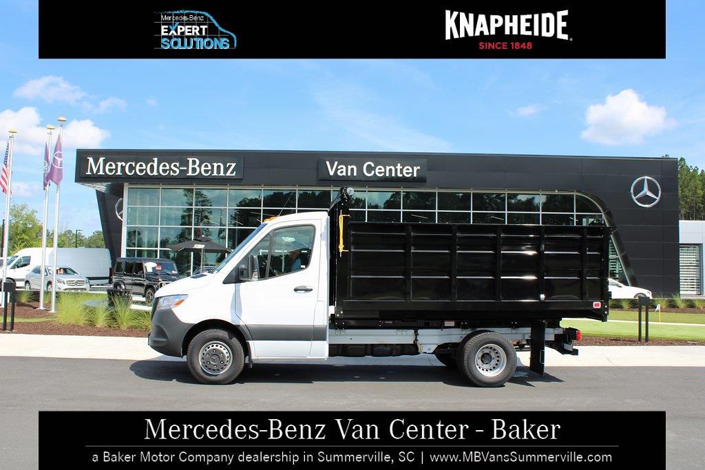 2020 Mercedes-Benz Sprinter 4500 Standard Roof DRW 4x2, Knapheide Landscape Dump #MV0117 - photo 17