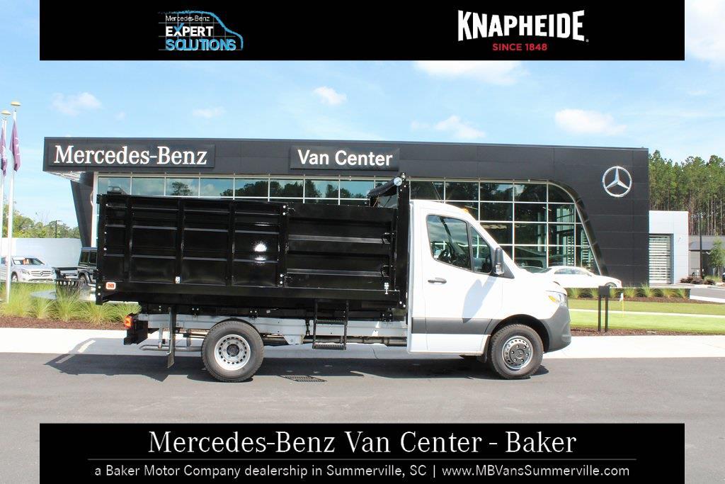 2020 Mercedes-Benz Sprinter 4500 Standard Roof DRW 4x2, Knapheide Landscape Dump #MV0117 - photo 4