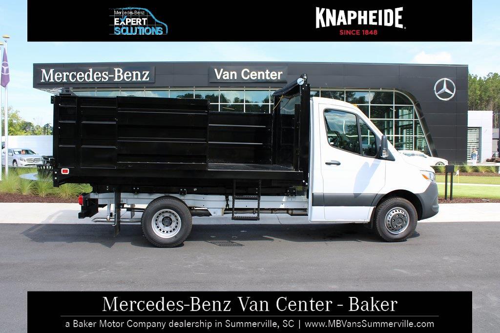2020 Mercedes-Benz Sprinter 4500 Standard Roof DRW 4x2, Knapheide Landscape Dump #MV0117 - photo 5