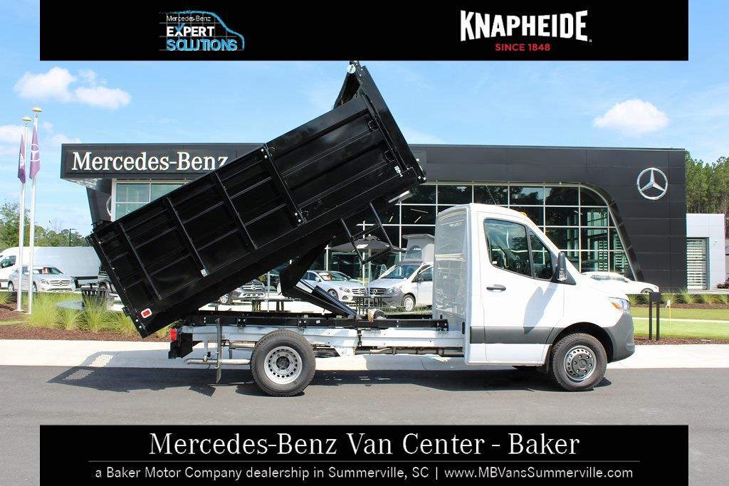 2020 Mercedes-Benz Sprinter 4500 Standard Roof DRW 4x2, Knapheide Landscape Dump #MV0117 - photo 8