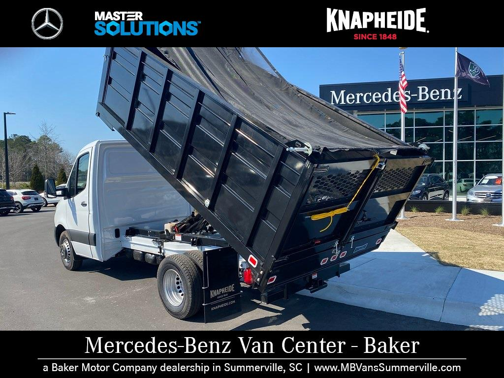 2020 Mercedes-Benz Sprinter 4500 Standard Roof DRW 4x2, Knapheide Landscape Dump #MV0118 - photo 9