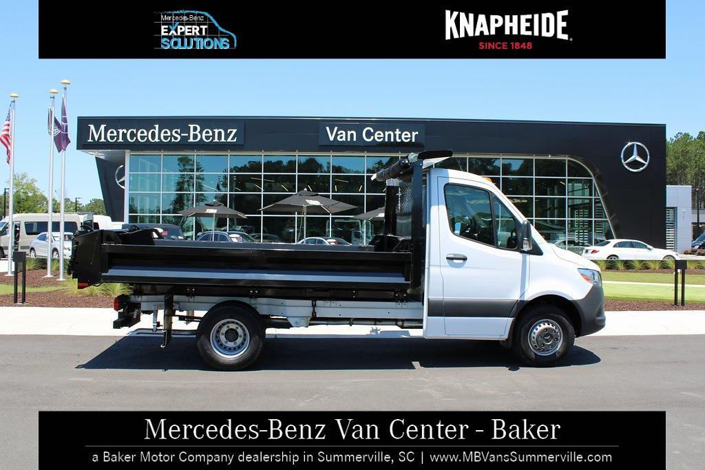2020 Mercedes-Benz Sprinter 4500 Standard Roof DRW 4x2, Knapheide Drop Side Dump Body #MV0121 - photo 4