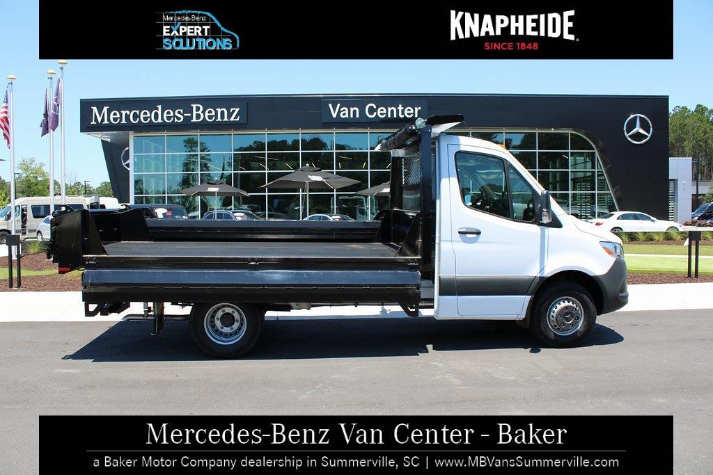2020 Mercedes-Benz Sprinter 4500 Standard Roof DRW 4x2, Knapheide Drop Side Dump Body #MV0121 - photo 5