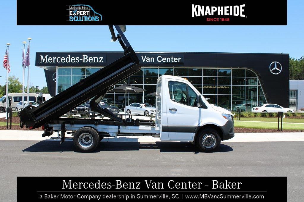 2020 Mercedes-Benz Sprinter 4500 Standard Roof DRW 4x2, Knapheide Drop Side Dump Body #MV0121 - photo 6
