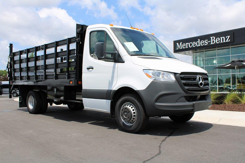 2020 Mercedes-Benz Sprinter 4500 DRW 4x2, Knapheide Stake Bed #MV0123 - photo 1