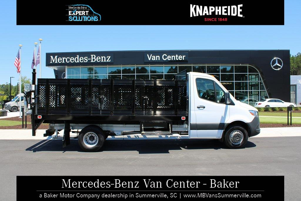2020 Mercedes-Benz Sprinter 4500 DRW 4x2, Knapheide Value-Master X Stake Bed #MV0124 - photo 5