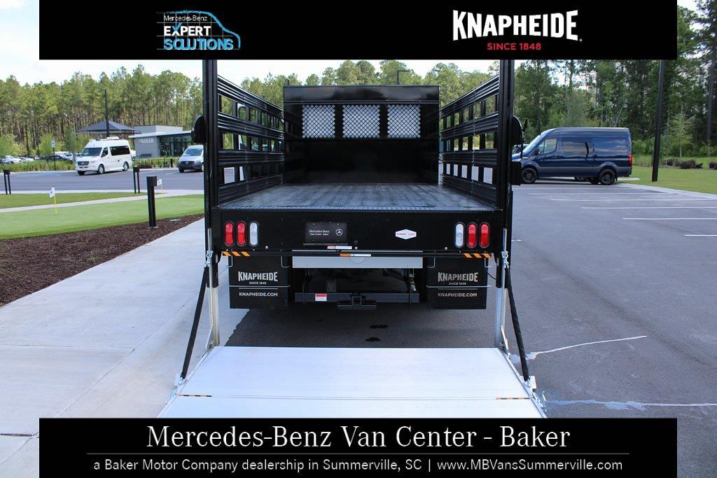 2020 Mercedes-Benz Sprinter 3500XD Standard Roof DRW 4x2, Knapheide Value-Master X Stake Bed #MV0127 - photo 11