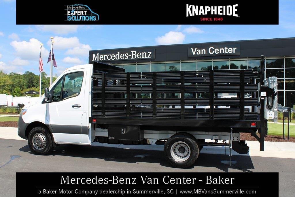 2020 Mercedes-Benz Sprinter 3500XD Standard Roof DRW 4x2, Knapheide Value-Master X Stake Bed #MV0127 - photo 15