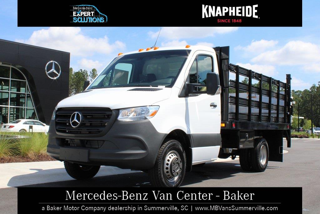 2020 Mercedes-Benz Sprinter 3500XD Standard Roof DRW 4x2, Knapheide Value-Master X Stake Bed #MV0127 - photo 20