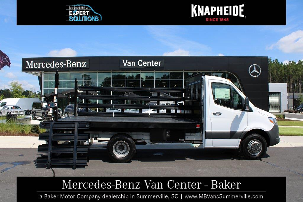 2020 Mercedes-Benz Sprinter 3500XD Standard Roof DRW 4x2, Knapheide Stake Bed #MV0127 - photo 1