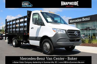 2020 Mercedes-Benz Sprinter 3500XD Standard Roof DRW 4x2, Knapheide Value-Master X Stake Bed #MV0127 - photo 1