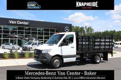 2020 Mercedes-Benz Sprinter 3500XD Standard Roof DRW 4x2, Knapheide Value-Master X Stake Bed #MV0127 - photo 19