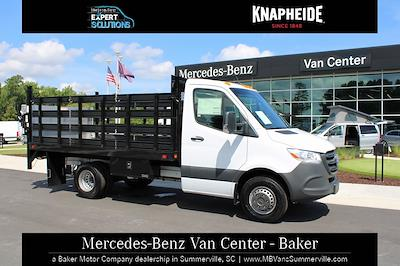 2020 Mercedes-Benz Sprinter 3500XD Standard Roof DRW 4x2, Knapheide Value-Master X Stake Bed #MV0127 - photo 4