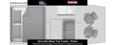 2021 Mercedes-Benz Sprinter 2500 4x2, Travois Vans Other/Specialty #MV0136 - photo 7
